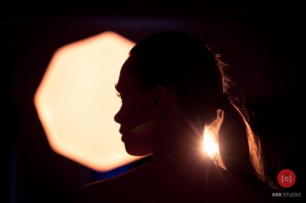 Fotografia UV backstage
