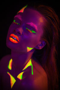 Natalia Szura - UV Photography Portrait