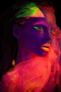 Natalia Szura - UV Photography Portrait