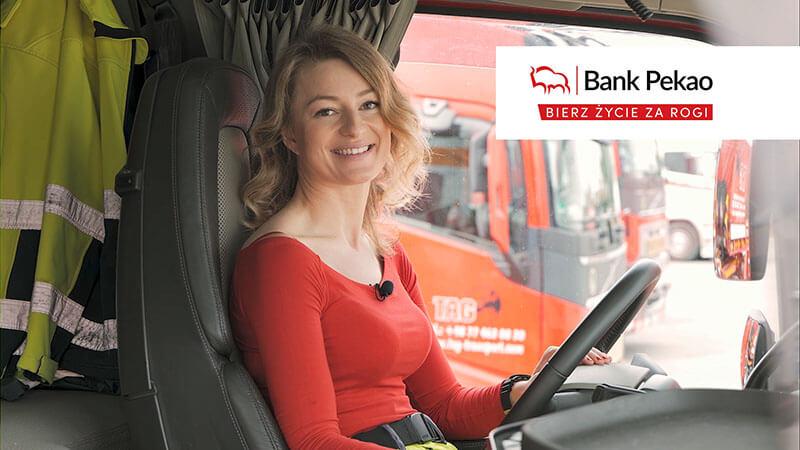 Iwona Blecharczyk Trucking Girl Video